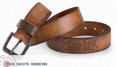 0e66f545b9b ceinture en cuir levis